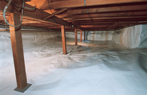 crawl space encapsulation and insulation in PA