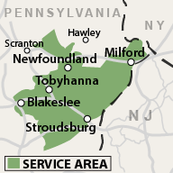 Our PA Service Area